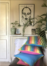 Load image into Gallery viewer, 50x50 Rainbow cushions