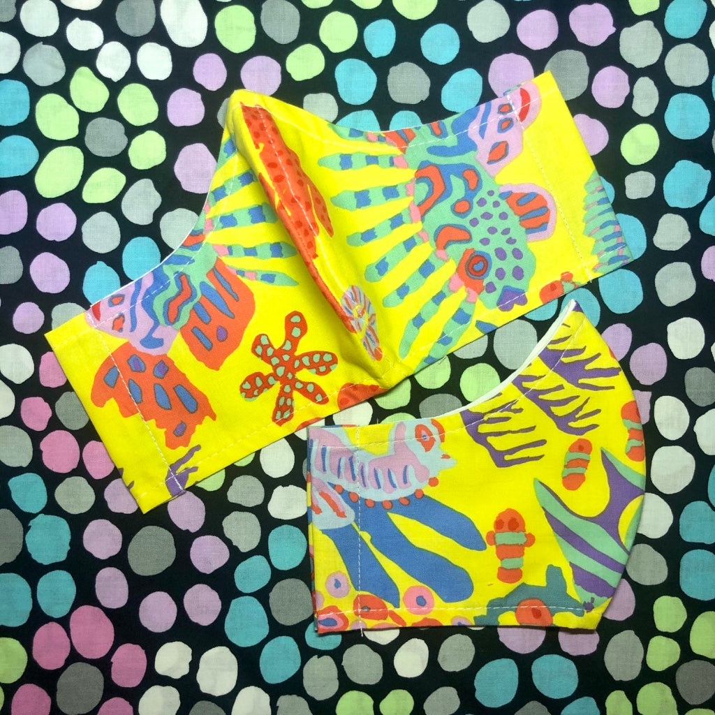 JANUARY SALE Kaffe Fassett Collective 'Yellow Scuba'