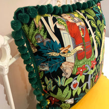 Load image into Gallery viewer, 50x50 Frida cushions with fabulous edging.
