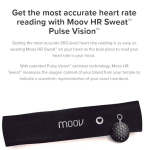 Moov HR Sweat | Heart Rate Based Coach | Limited Edition