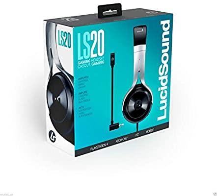 Un Headset Wired (Lucid Sound) (LS20   Black)
