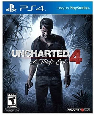 Uncharted 4: A Thief's End ( Pre-Owned )