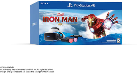 Playstation VR Headset Bundles (W/ Iron Man) (+PS5 Adapter)