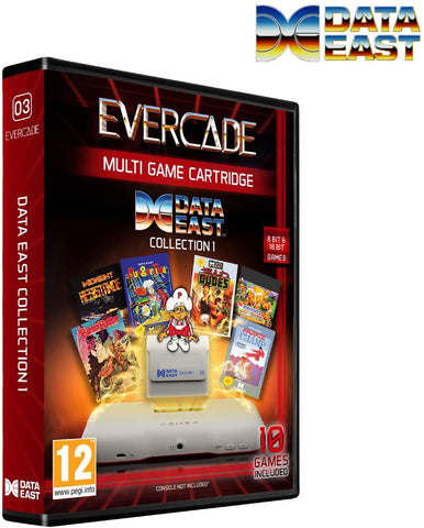 Evercade Data East Collection 1