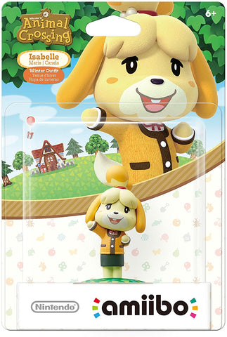 Amiibo - Animal Crossing Isabelle (Winter)