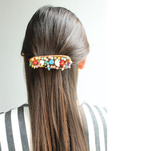 HAIRCLIP SELENE MARRON