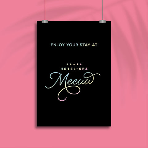 Enjoy Your Stay - Poster