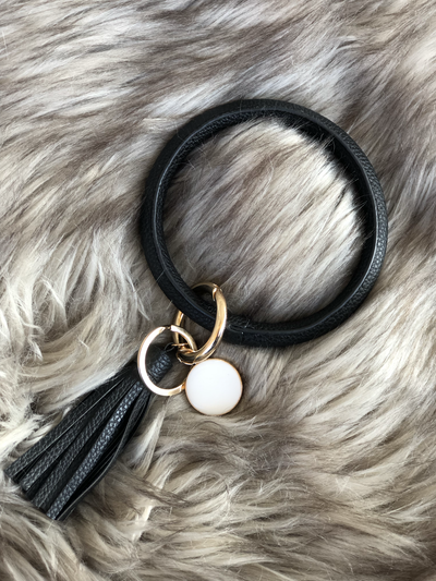 Bracelet Keychains Color Matte Black