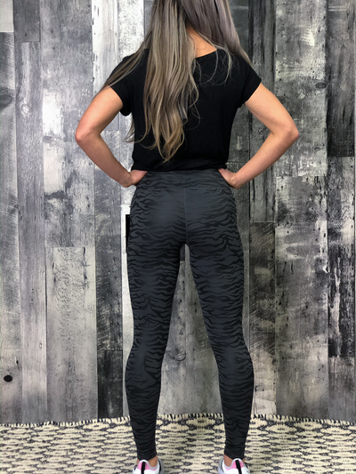 Athletic Legging - Animal Print