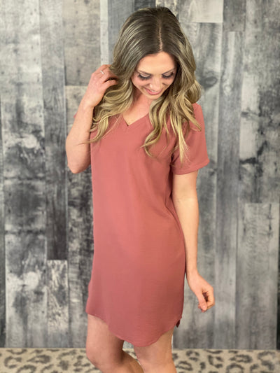 Tunic Dress - Marsala