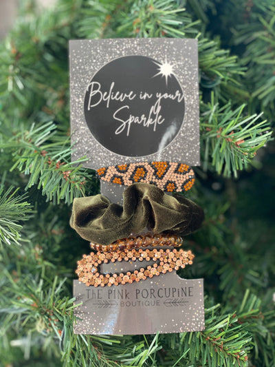 Believe In Your Sparkle Hair Accessories Bundle