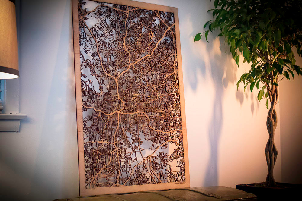 City Maps, Large 24x36