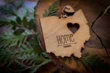 Load image into Gallery viewer, All 50 States Ornaments. Heart & Home. Show love for your place that stole your heart