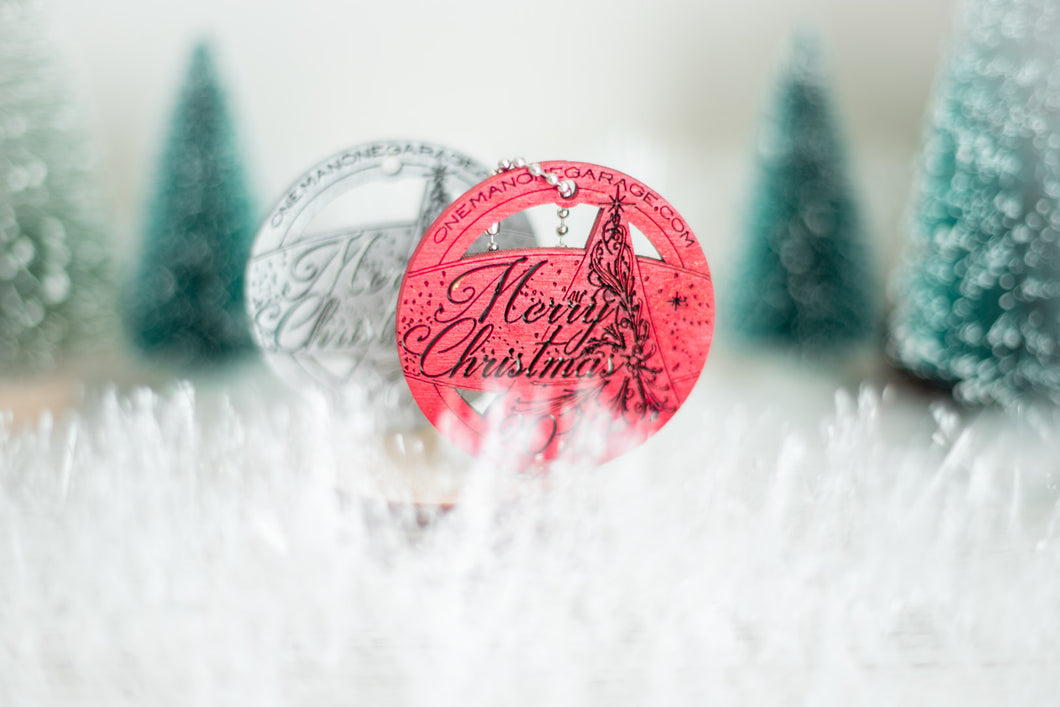 Wooden Token, A Special Holiday Ornament and Momento, Perfect For Stockings And Gift Bags and Keychain.