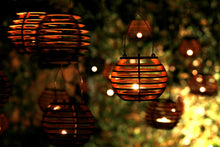 Load image into Gallery viewer, Firefly Luminairies. Wooden lantern kits for tealights. Light up your outdoor party!