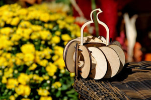Fall Harvest Pumpkin Tea Lights. Individual kits, or String together for Outdoor Party Lights.