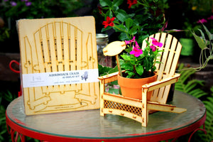 Adirondack Chair. Outdoor Planter, Drink Holder, Beach Buddy, Table Centerpiece, Party Decorations