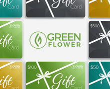 Load image into Gallery viewer, Green Flower Learning Gift Card
