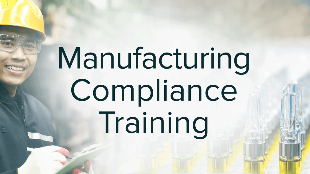 Manufacturing Compliance Training