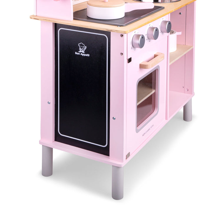 New Classic Toys Ξύλινη Κουζίνα Modern Electric Cooking Pink