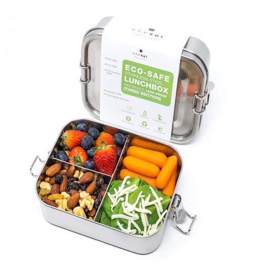 Ecozoi 3 Section Lunch Box