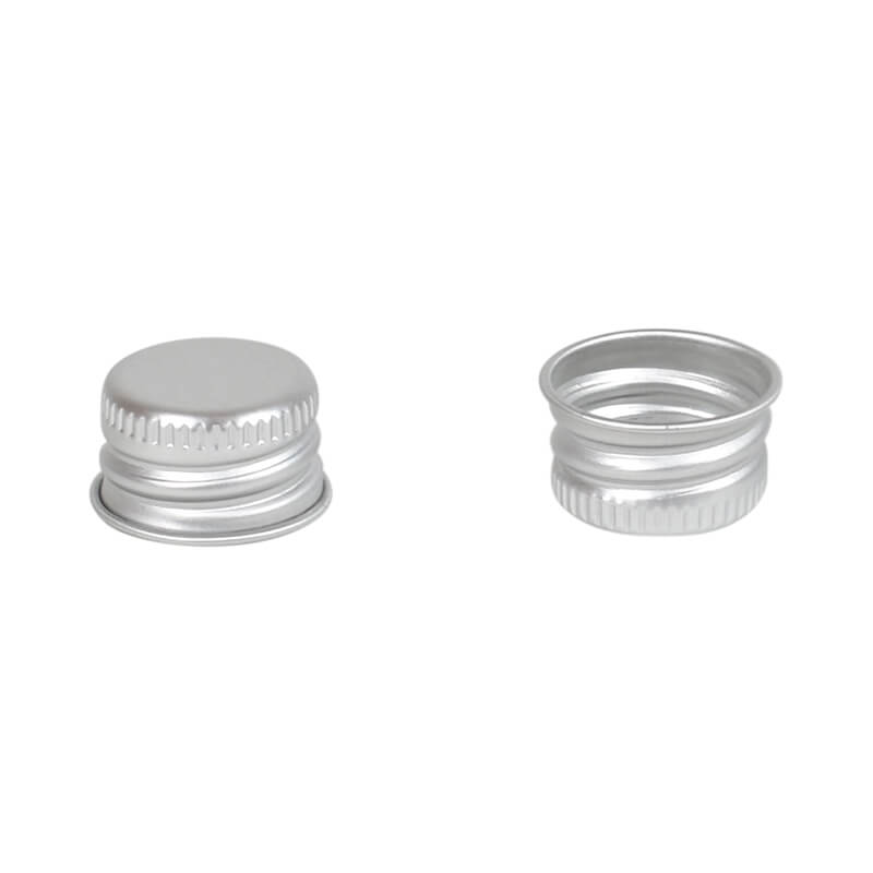 Aluminium screw cap 18mm
