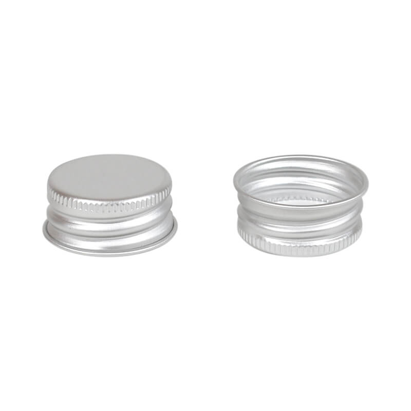 Aluminium screw cap 28mm