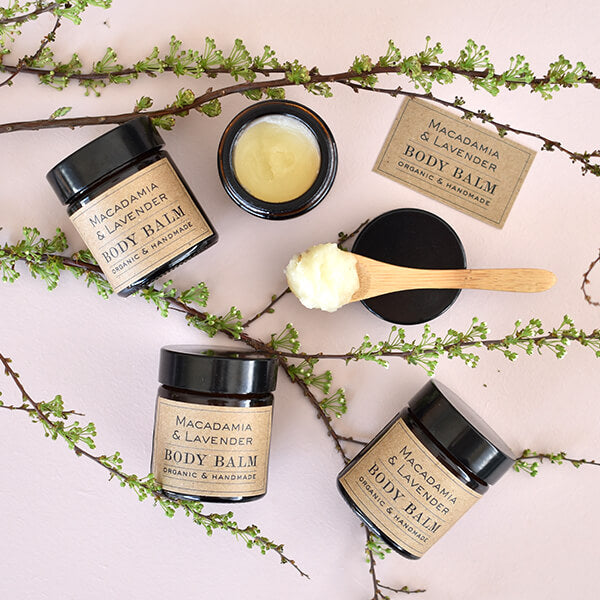 Rejuvenating Body Balm kit – Macadamia + Lavender