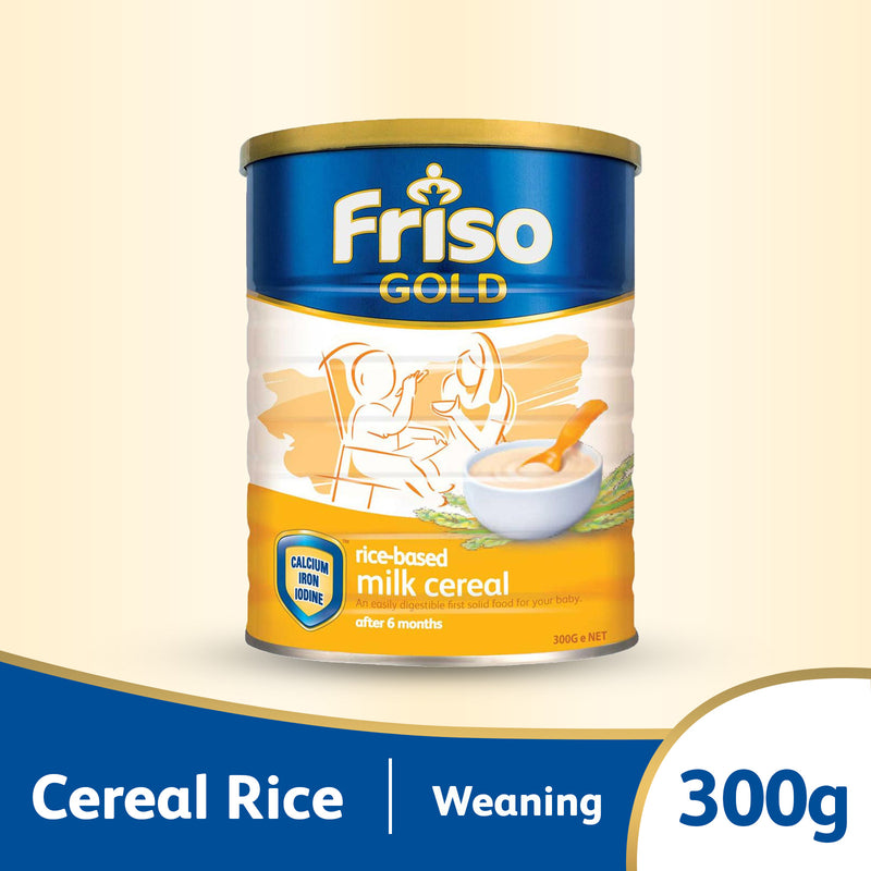 Friso Gold Cereal Rice 300g