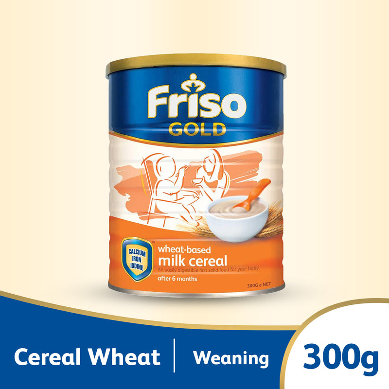 Friso Gold Cereal Wheat 300g