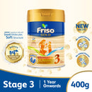 Friso Gold Stage 3 Growing Up Milk 2'-FL 400g for Toddler 1+ years
