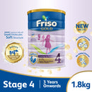 Friso Gold Stage 4 Growing Up Milk 2'-FL 1.8kg for Toddler 3+ years