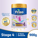 Friso Gold Stage 4 Growing Up Milk 2'-FL 900g for Toddler 3+ years