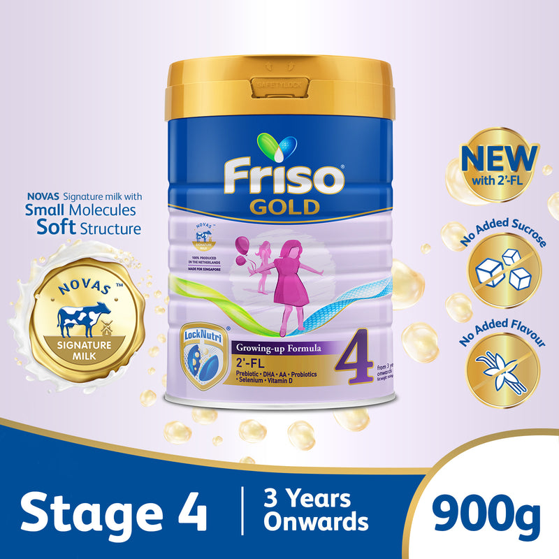 Friso Gold Stage 4 Growing Up Milk 2'-FL 900g