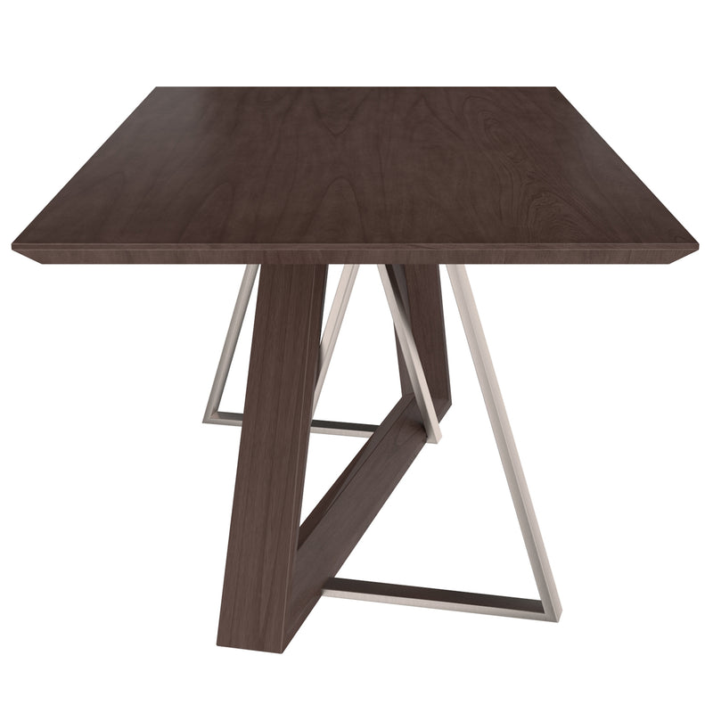 DRAKE-DINING TABLE-WALNUT
