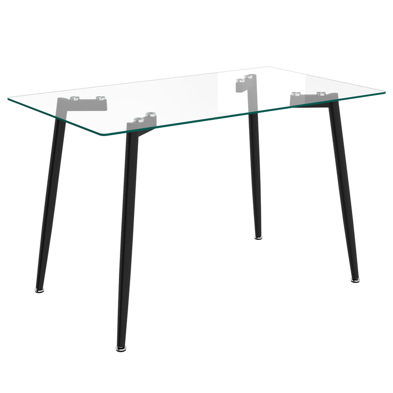 ABBOT-DINING TABLE-BLACK