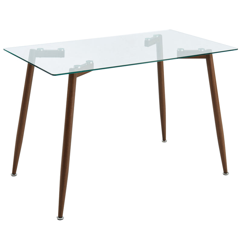 ABBOT-DINING TABLE-WALNUT
