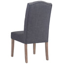 LUCIAN-SIDE CHAIR-GREY, SET OF 2
