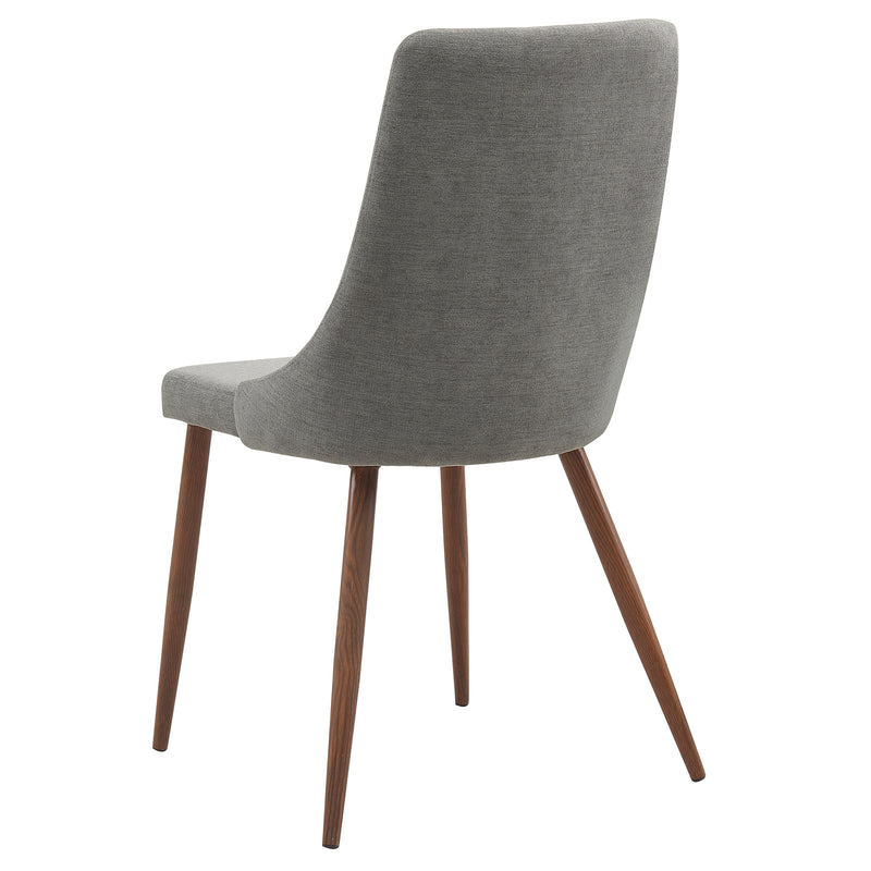 CORA-SIDE CHAIR-GREY, SET OF 2