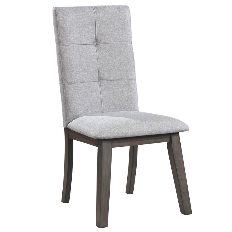 ASHLAND-SIDE CHAIR-GREY, SET OF 2