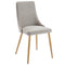 CARMILLA-SIDE CHAIR-GREY, SET OF 2