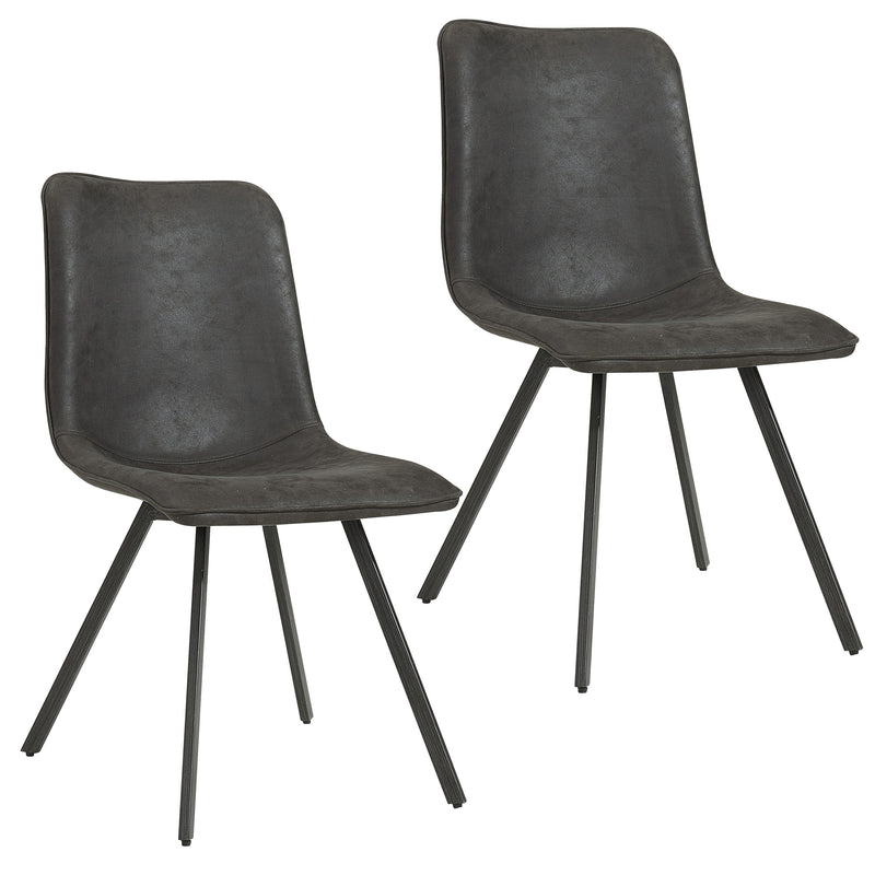 BUREN-SIDE CHAIR-VINTAGE GREY, SET OF 2