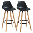 "DIABLO-26"" COUNTER STOOL-BLACK, SET OF 2"