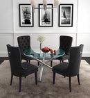 SOLARA II/RIZZO BK-5PC DINING SET