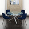 SOLARA II/CASSIDY BLU-5PC DINING SET