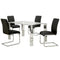 FRANKFURT/MAXIM BK-5PC DINING SET