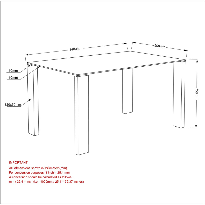 FRANKFURT/MAXIM WT-5PC DINING SET
