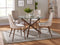 ROCCA/CORA BG-5PC DINING SET