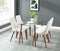 ABBOT/CORA BG-5PC DINING SET