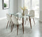 ABBOT/LYNA BG-5PC DINING SET